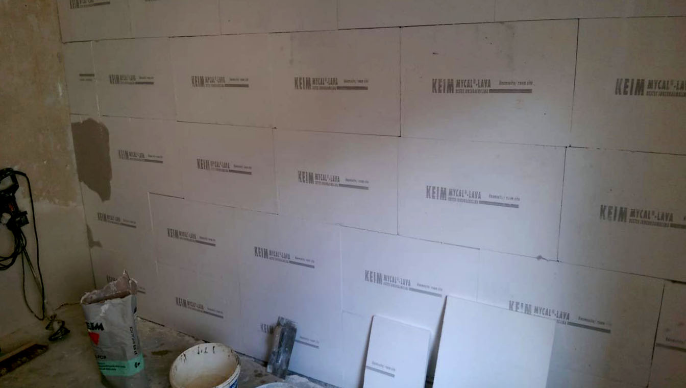 Mandic Baudekoration – Innenraummdämmung Bad 2